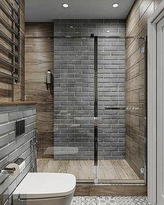 luxury bathroom, fancy master bathroom ideas for your house, office, apartment and much Modern Bathrooms Interior, Modern Master Bathroom, Bathroom Design Small, Bathroom Layout, Bathroom Interior Design, Bathroom Ideas, Tiled Bathrooms, Contemporary Bathrooms, Minimal Bathroom
