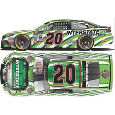 Matt Kenseth Action Racing 2017 #20 Interstate Batteries 1:24 Monster Energy NASCAR Cup Series Die-Cast Toyota Camry
