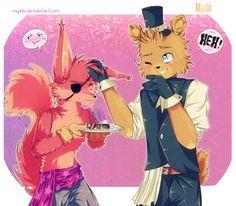 FNAF | Happy Valentine! by Myebi on DeviantArt