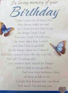 Happy Birthday in Heaven Jennifer. I Love you and miss you more than words. Birthday In Heaven Quotes, Happy Birthday In Heaven, Birthday Poems, Best Birthday Quotes, Birthday Wishes, 90th Birthday, Miss Mom, Miss You Dad, Mom In Heaven