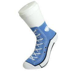 United Odd Socks Sneaker Socks - Blue Silly Socks have taken the country by storm and socks are getting sillier by the minute! Silly Socks are ordinary socks with shoe designs printed onto them a clever gag that gets worn again and again. http://www.MightGet.com/january-2017-13/united-odd-socks-sneaker-socks--blue.asp