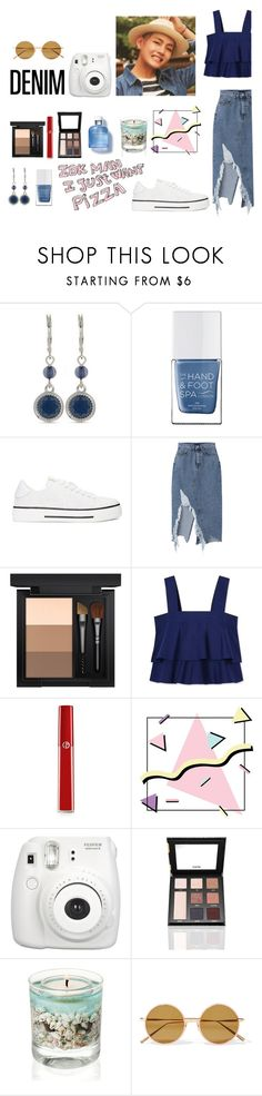 """Blue Sea"" by soojinchoi ❤ liked on Polyvore featuring Nine West, The Hand & Foot Spa, Valentino, MAC Cosmetics, Tory Burch, Giorgio Armani, Fujifilm, Puji, Acne Studios and Dolce&Gabbana"
