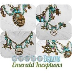 Steampunk Necklace Nautical Siren Dreams