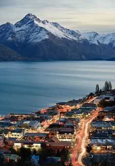 Queenstown, New Zealand, by Paul Simpson. Coronet Peak & Remarkables ski resorts.