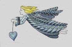 Zentangle Angel