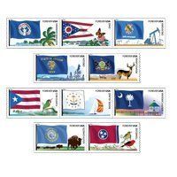 Flags Of Nation Set #5 of 6, set of 10 x Forever Stamps . $11.35. Flags Of Nation Set #5 of 6, set of 10 x Forever Stamps