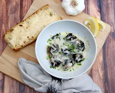 Escargot and Garlic Bread #memorablemelts - Family Food And Travel