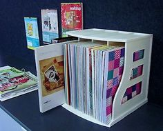 1-White-Binder-Way-Scrapbooking-Paper-12x12-Scrapbook-Storage-Scrapbook-Albums