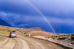 Радуга в горах. Дагестан, май, 2017.  . #redoffroadexpedition #redoffroad #экспедиция #мыздесьвсепогибнем #Дагестан #offroad #red #горы #радуга