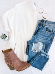 Casual Fall Outfits, Fall Winter Outfits, Autumn Winter Fashion, Spring Outfits, Trendy Outfits, Cute Outfits, Fashion Outfits, Fall Outfits For School, I Love Fashion