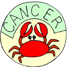 #CANCER Symbol: Crab  Ruling planet: Moon  Ruling house: 4th   Element: Water  Compatible zodiac signs: Scorpio, Pisces, Taurus, Virgo.  Incompatible zodiac signs: Aries, Leo, Sagittarius, Gemini.  Span/date: June 21 to July 22.  General forecast 2015: