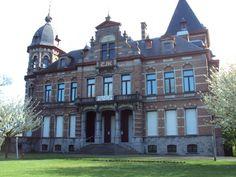 Een kasteel te Mariakerke-Gent.