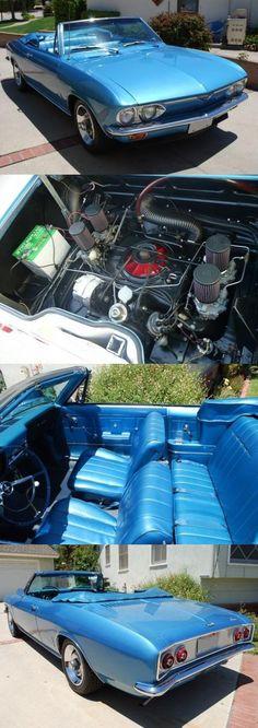 1966 Chevrolet Corvair Corsa Convertible