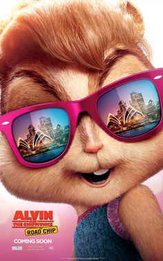 Brittany's got eyes for bright lights and beaches in Sydney   Alvin and the Chipmunks: The Road Chip