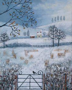 'Winter Fields' by Jo Grundy