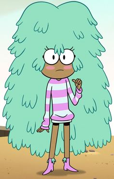 Kelly is a character who appears in the Disney XD animated series, Star vs. the Forces of Evil. She is one of Pony Head& friends, who loves Goblin Dogs, and is usually seen with her boyfriend Tad, who hangs out in her hair. Starco, Minor Character, Character Design, Cartoon Tv Shows, Star Wars, Disney Xd, Star Butterfly, Love Stars, Star Vs The Forces Of Evil