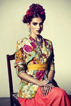 Fashion photography | modern Frida