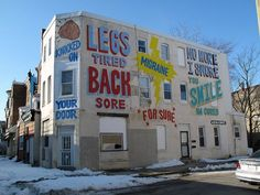 Steve Powers #StevePowers #tipografia #gd #streetart #istallazioni #insegne