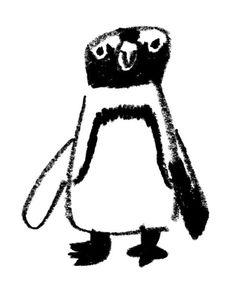 such a cute penquin. Art And Illustration, Illustrations And Posters, Penguin Illustration, Penguin Art, Penguin Sketch, Plakat Design, Bird Art, Cute Art, Art Inspo