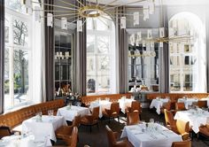 The Northall, 10A Northumberland Avenue, London. Looks so smart and elegant - afternoon tea perhaps!