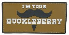 Huckleberry PVC Morale Patch