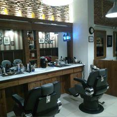 barber / barbería / Barber shop / style / decoración / photo /