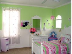 Pink Room Ideas | Paint ideas for 7 year old dd's room - Decorating Divas - Decor ...