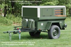 """""""TrailTop"""" modular trailer topper building components - Page 4 - Expedition Portal"""