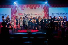 Scena na TEDxAmsterdamWomen 2013
