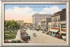 Square, Marion, Indiana Premium Poster at Art.com