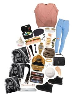 """🙄"" by babeprincessas ❤ liked on Polyvore featuring American Apparel, Lafayette 148 New York, Miss Selfridge, Tasha, ...Lost, MCM, Louis Vuitton, UGG Australia, Yves Saint Laurent and Charlotte Tilbury"