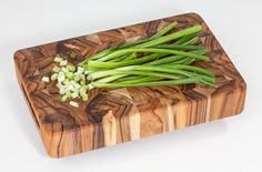 Rectangle End Grain with Hand Grips   Wood Cutting Boards