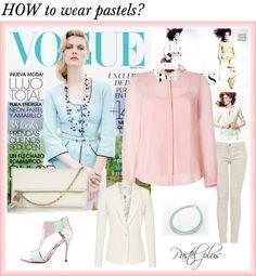 """How to wear Pastels"" by bellemonde-blog on Polyvore"