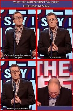 What the Queen didn't say in her Christmas message   Frankie Boyle   Mock the Week