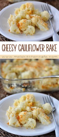 This cheesy cauliflower makes the perfect Easter side dish. It really is pure cauliflower heaven.
