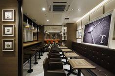 Tullys Coffee Shop Aiji Inoue Yasuo Kanai Kagoshima 04 Tullys Coffee Shop Remm Kagoshima by Aiji Inoue & Yasuo Kanai, Kagoshima Japan