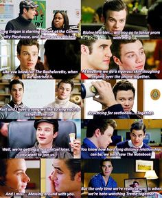 *Klaine and their togetherness* They fit so good together :') And I know they will be together again <3 <3