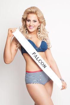 Miss Turismo Falcon 2013, Gabriela Urrutia, de 18 años y 1,82 mts @lukeegabrielaa