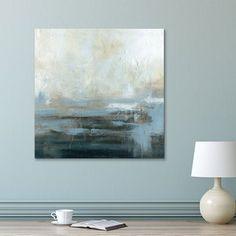 Artissimo Designs Morning Abstract Canvas Wall Art