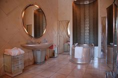 Bathroom Built for Queen of England's Paris Stay ~ 1938