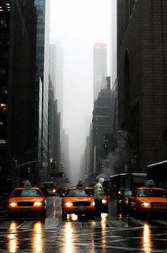 I love nyc, rain Nyc, Empire State Of Mind, Concrete Jungle, City Photography, Adventure Is Out There, City Lights, Belle Photo, Cities, New York City