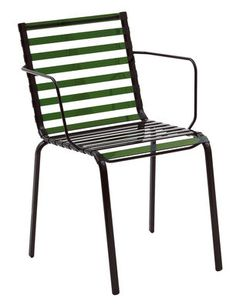 Scopri Poltrona Striped, Verde di Magis, Made In Design Italia
