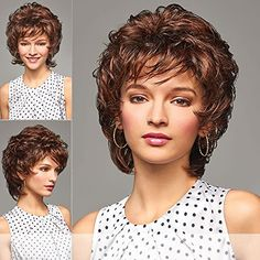 SONYA Henry Margu  Synthetic Full Wig in 1BH >>> Visit the image link more details.