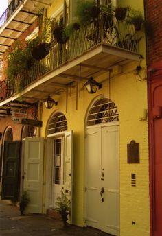 Former home of William Faulkner-Faulkner House Books 624 Pirate's Alley New Orleans, LA 70116