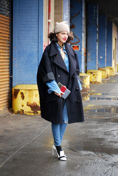 the man repeller - Leandra fashion week NYC Trendy Outfits, Cool Outfits, Fashion Outfits, Normcore Fashion, Nyfw Street Style, Leandra Medine, Man Repeller, Pinterest Fashion, Style Snaps
