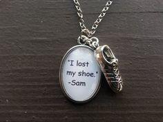 "Supernatural ""I lost my shoe"" Necklace - Necklace - Supernatural-Sickness - 1"