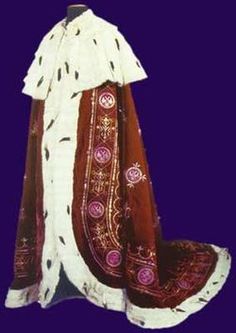Serbian Royal mantle