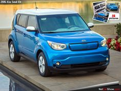 KIA Soul EV I think it look like Rand Rover
