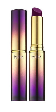 Gorgeous plum lipstick shade from Tarte. Perfect fall color don't you think?