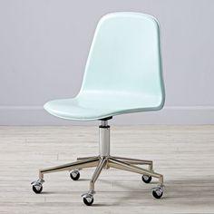 Class Act Mint U0026 Silver Desk Chair